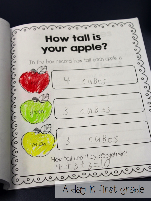 A Day In First Grade More Apples And Johnny Appleseed Day