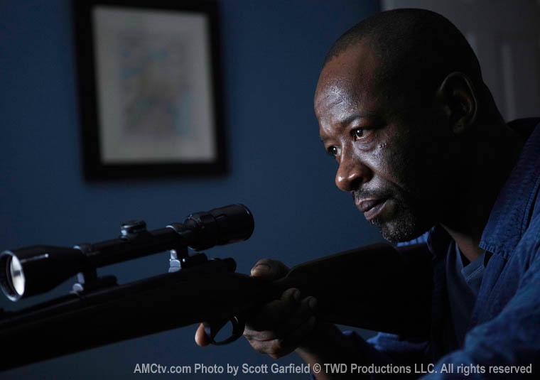 Lennie James es Morgan en The Walking Dead