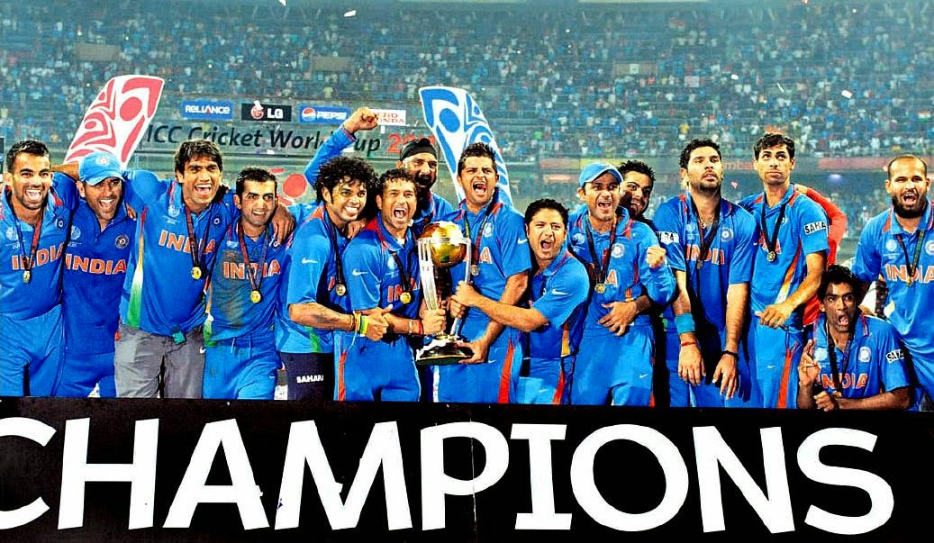 India 2011 World Cup Champion