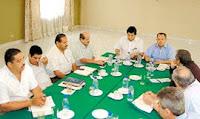 Dirigentes sindicales de los sindicatos bananeros de Olanchito
