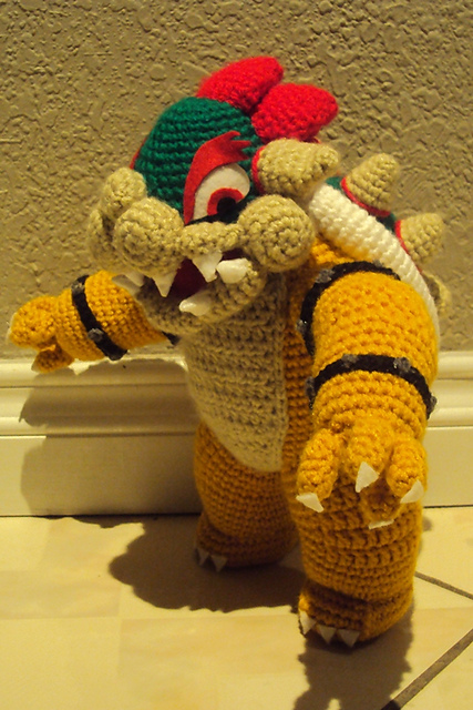 Damn it janet lets crochet bowser amigurumi a bowser pattern this is the one to make heres the link to it i just love how he turn out my son absolutely loves him hes his new favorite stuff dt1010fo