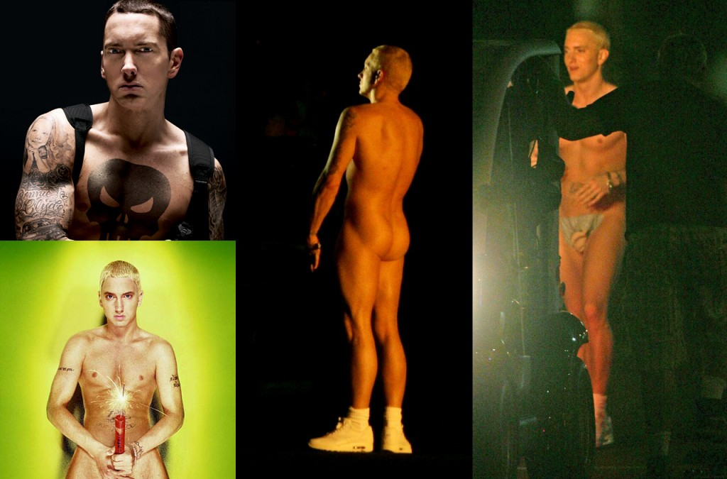 Eminem Desnudo