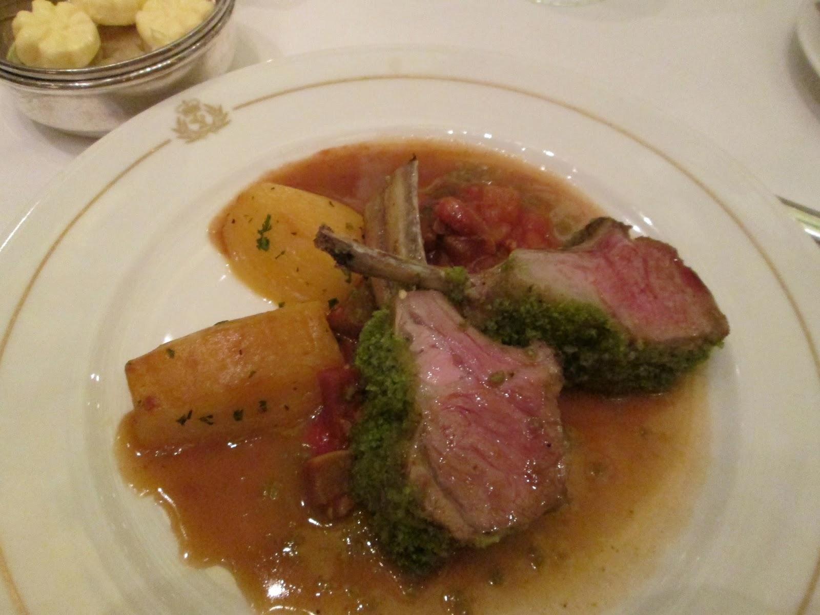 Dinner In The Britannia Restaurant By Mark Fitzgerald
