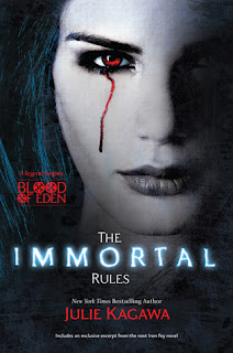Book cover image of The Immortal Rules by Julie Kagawa