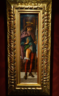 Wallace Collection London San Rocco Saint Roch Painting by Carlo Crivelli