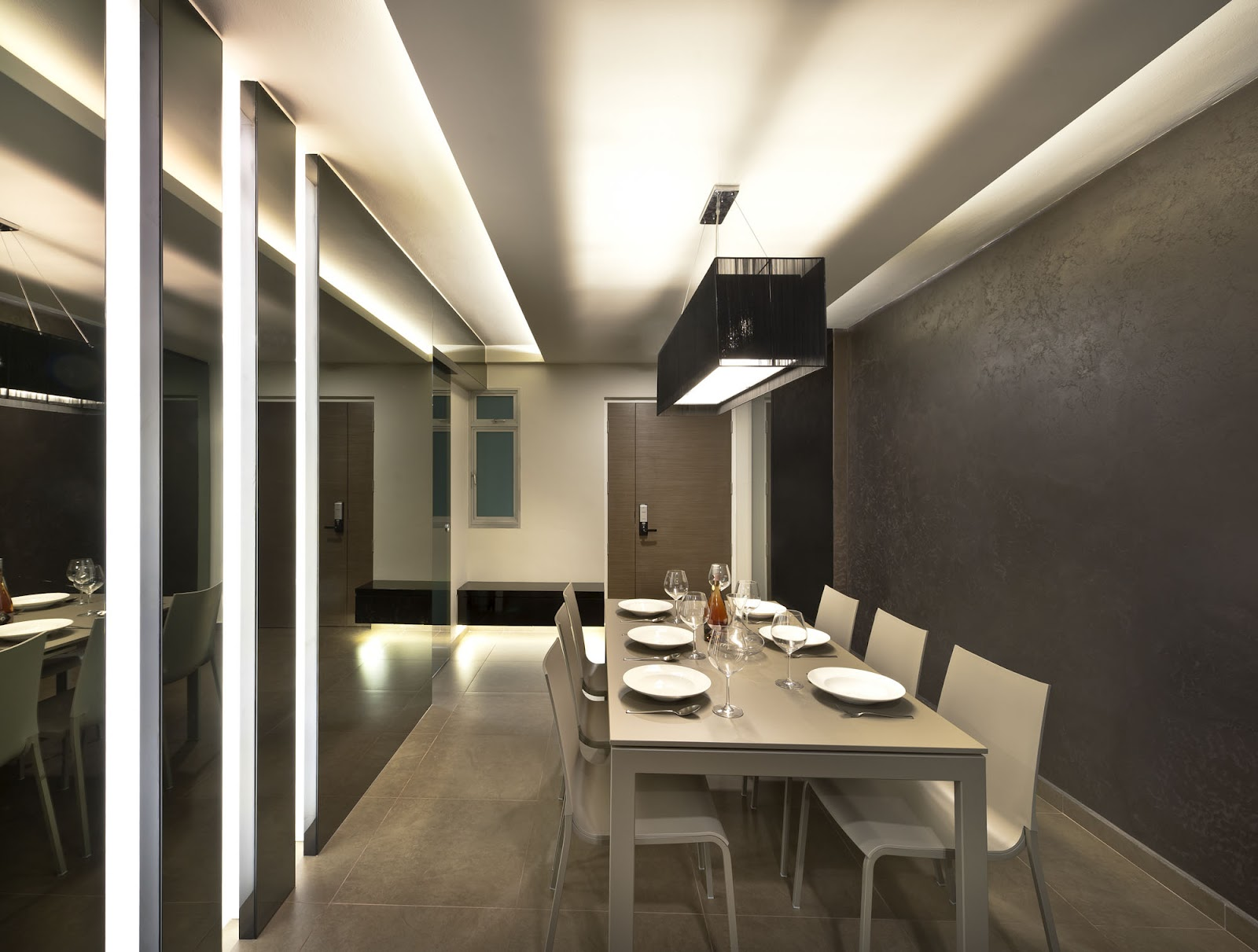 Rezt relax interior design 4 room hdb yishun for Interior design ideas for dining area