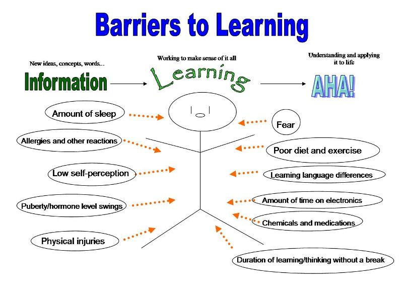personal barriers to online learning essay The online learning process is normally accelerated and requires commitment on the student's part staying up with the class and completing all work on time is vital staying up with the class and completing all work on time is vital.