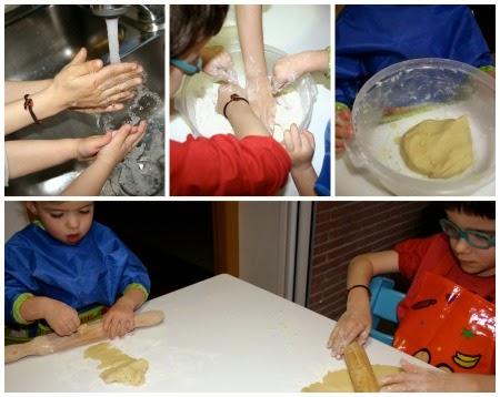 manualitat infantil fem galetes