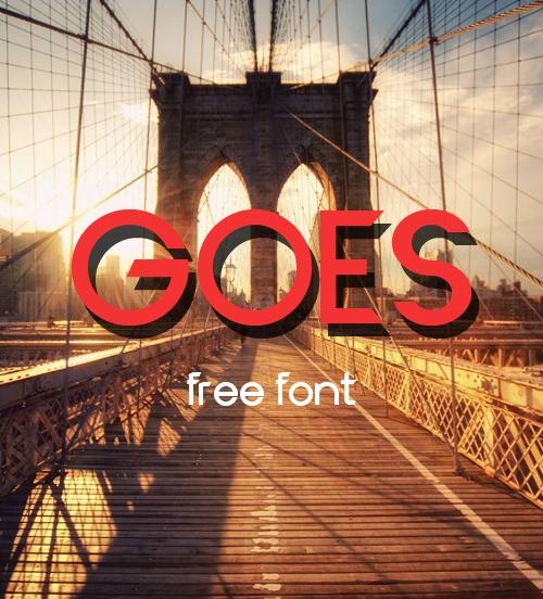 Font Commercial Gratis Terbaru Untuk Desainer Grafis - Goeo Free Font