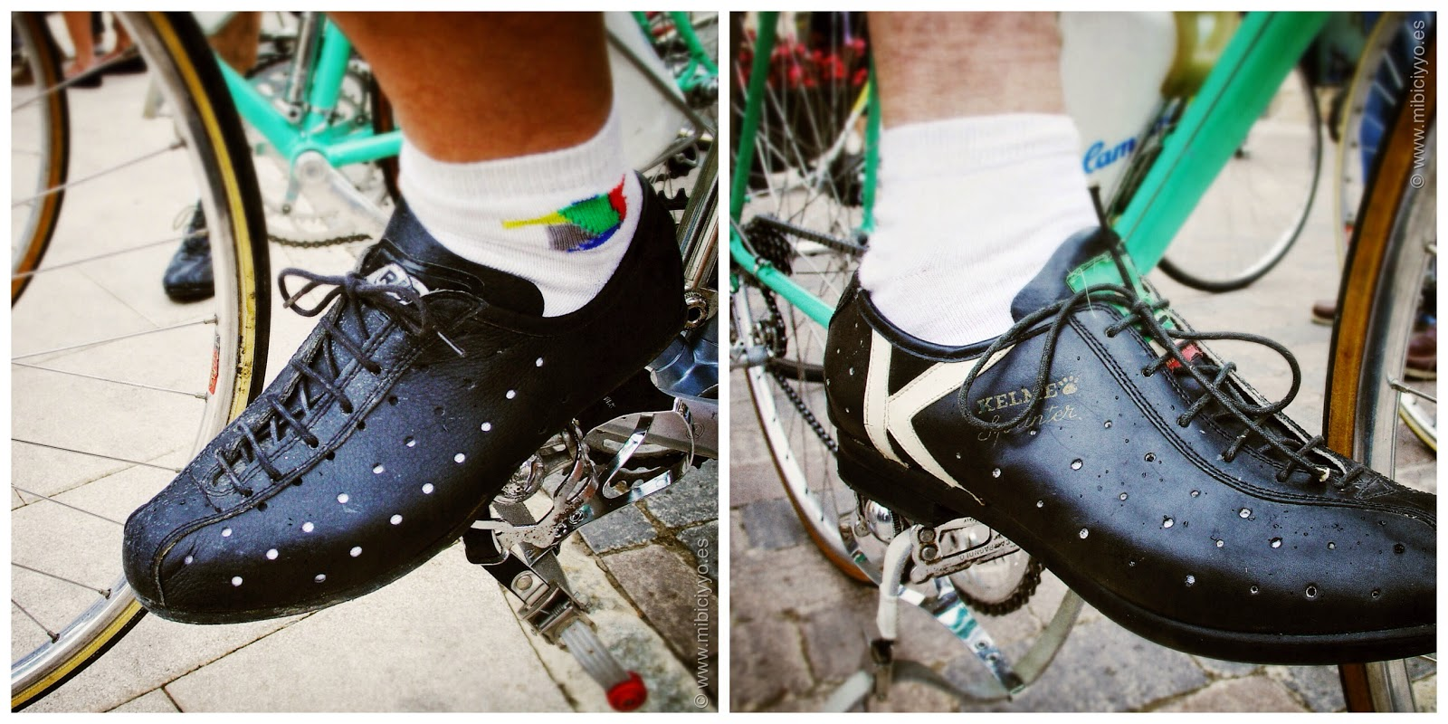 Sa Voltadora, zapatos ciclistas