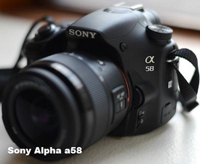 Harga dan Spesifikasi Kamera Sony Alpha SLT a58 Tahun 2015