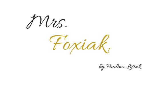 Mrs. Foxiak