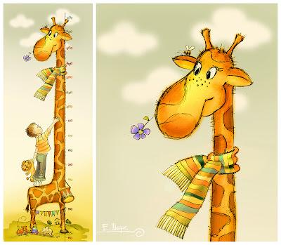 Открытки с днём рождения жираф 18