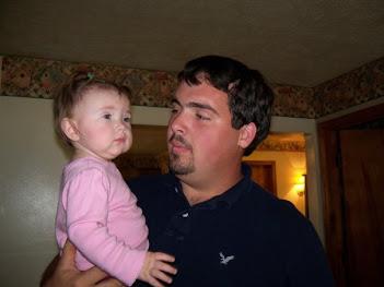 My son (holding Tobi)