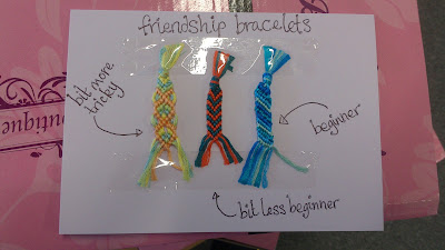 how to end a friendship bracelet