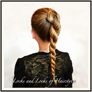 Rope Braided Ponytail