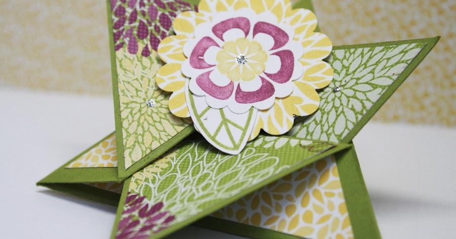 papierhandwerk vip donnerstag kostenlose anleitung star fold card. Black Bedroom Furniture Sets. Home Design Ideas