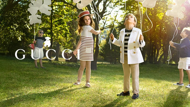 gucci inspiration kids campaign