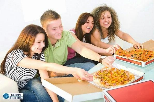 Las comidas rápidas en los jóvenes