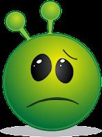 Smiley frustrado