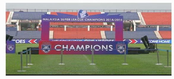 live streaming Majlis Sambutan JDT Juara Liga Super 2015