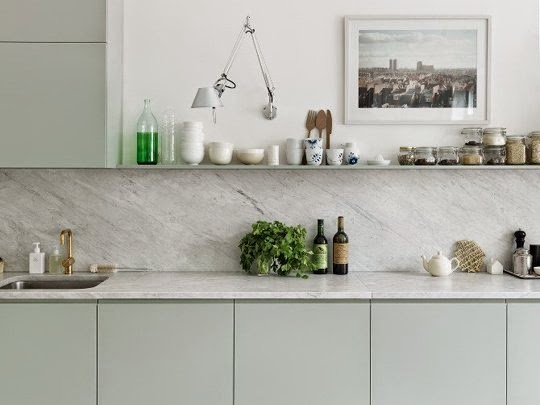 choosing marble for a backsplash