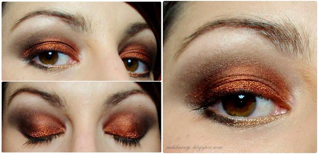 rubibeauty fin de año ojos serena gossip girl molten pigmentos pure luxe blake lively