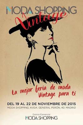 VI Edición de la Feria Vintage de Moda Shopping