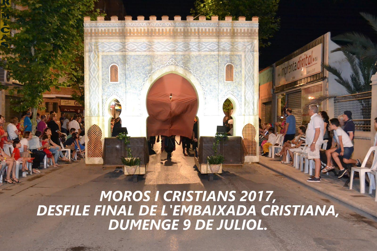 DESFILE FINAL MOROS I CRISTIANS 2017