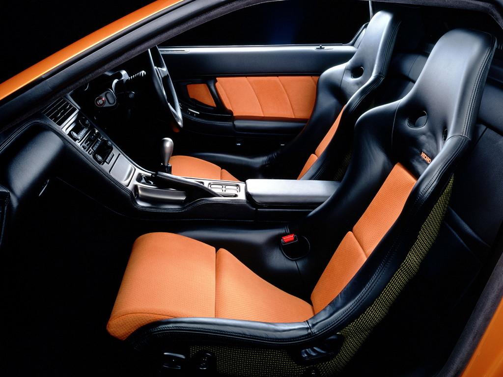 Honda NSX japoński supercar sportowy samochód kultowy V6 RWD wnętrze interior