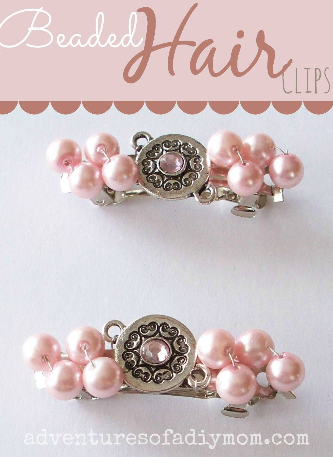 How to Make Beaded Hair Clips