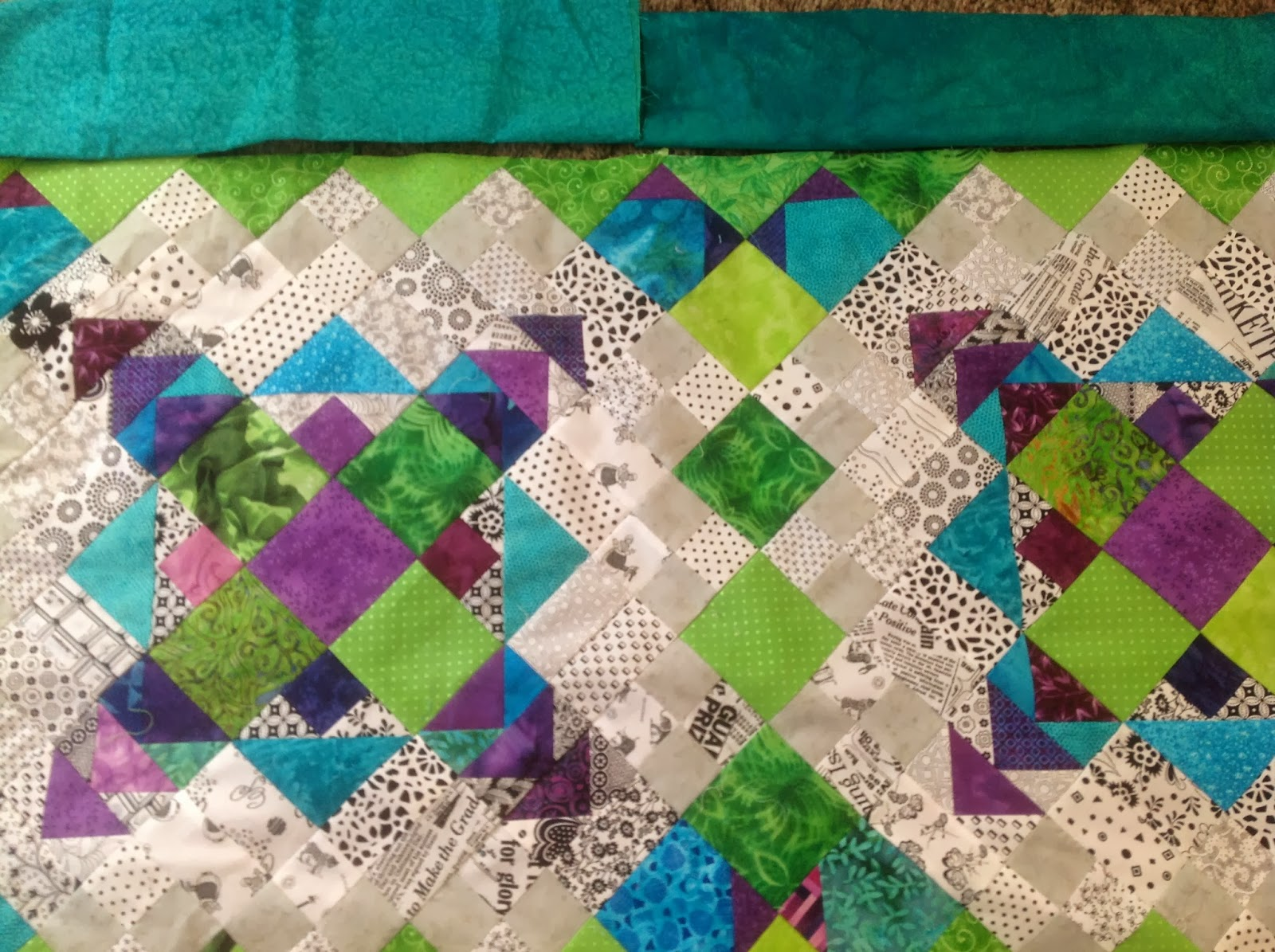 Timber hill threads borders and a quick quilt do you visit the missouri star quilt company website are you on their email list i just recently joined their email listing baditri Images