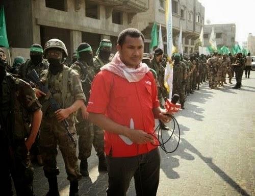 Reporter TV One di Jalur Gaza, Abdillah Onim
