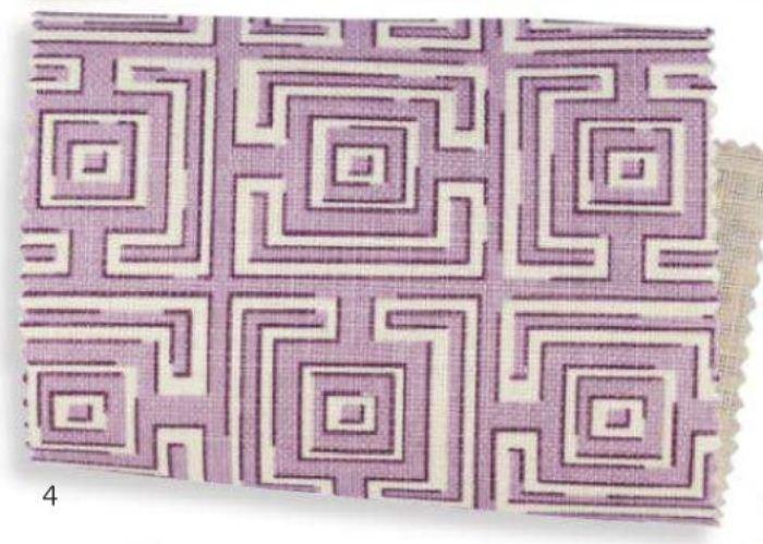 CYBILL Linen in Orchid 2013 Fabrics Pattern