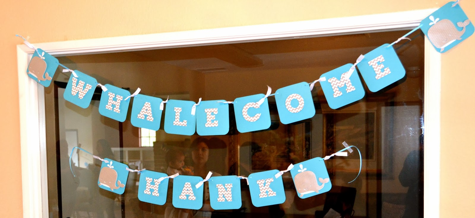 Lacey Whale Theme Baby Shower