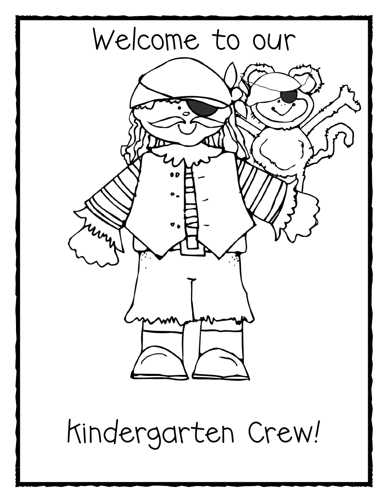Welcome To Kindergarten Coloring Pages Coloring Pages Welcome To Kindergarten Coloring Page