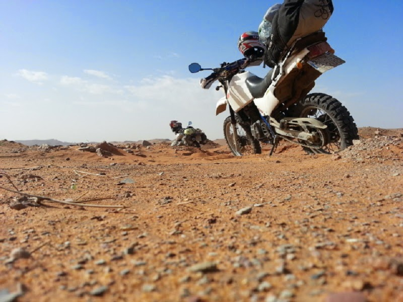 Viaje en moto por Marruecos