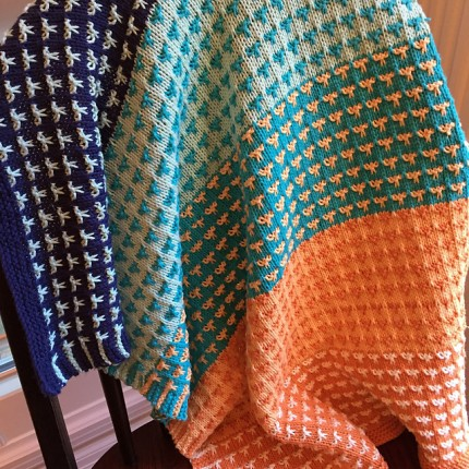Color Field Baby Blanket - Free Pattern