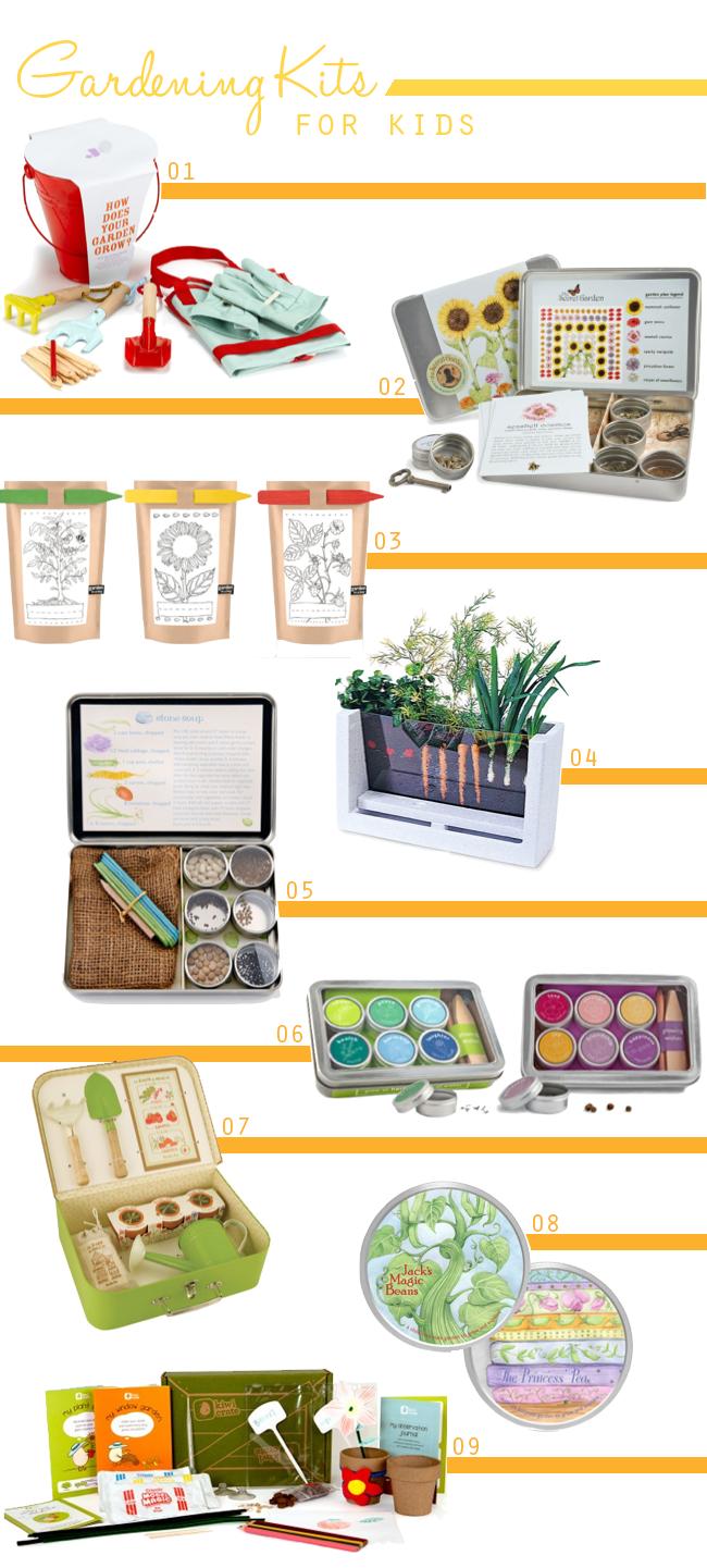 A lovely lark 9 cute gardening kits for kids for Gardening kit for toddlers