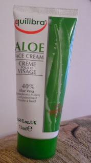 Recenzja: Equilibra, Aloesowy krem do twarzy, 40% aloesu