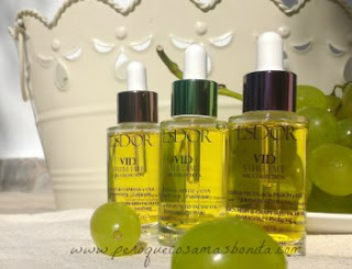 Aceites faciales Vid Sublime Oil Collection de Esdor