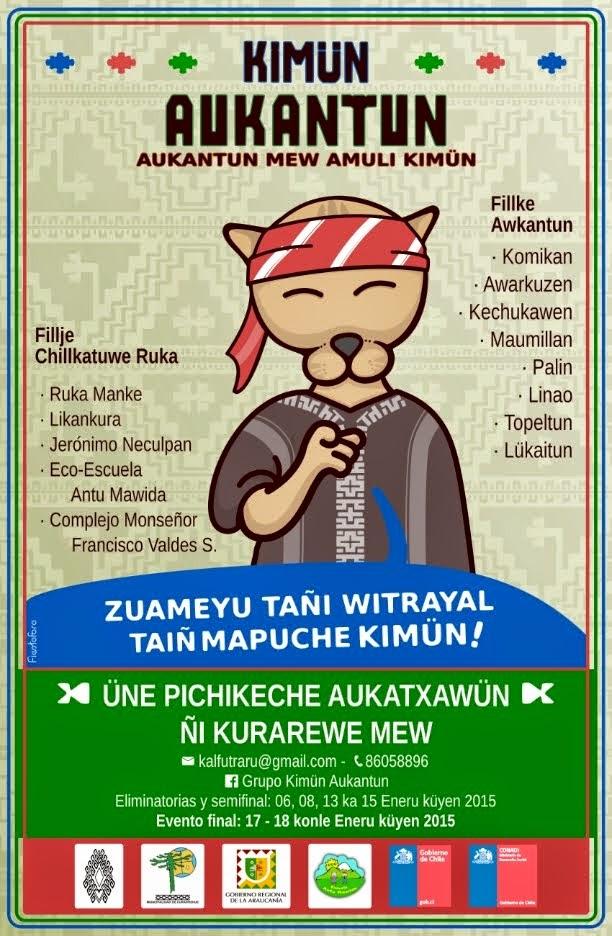 Kimun Aukantun (1º Olimpiadas Mapuches)