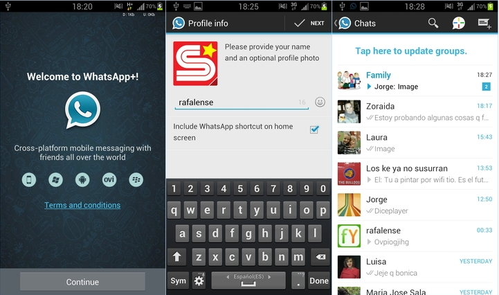 WhatsApp + v6.00D APK Full y Gratis