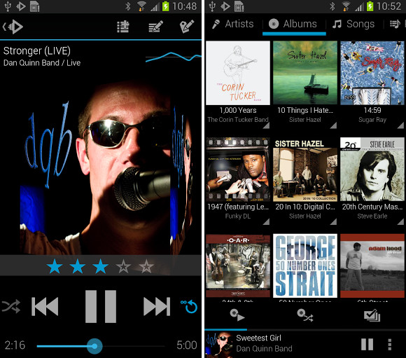 download rocket music player premium apk