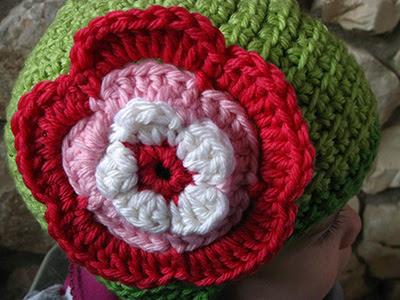 Giant Crochet Flower Pattern : Crochet Flowers - big, bigger, huge!!! - Crochet Pattern ...