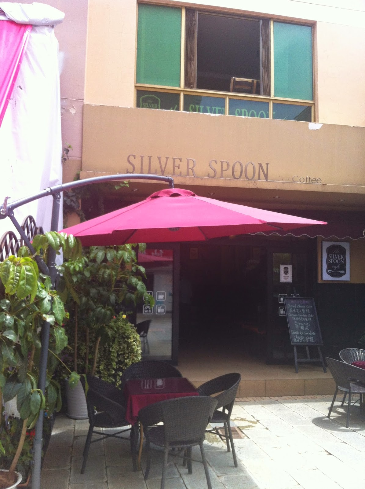 The Silver Spoon Cafe in Kunming