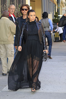 Kim Kardashian in New York
