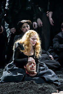 Sophie Bevan - Handel's Saul at Glyndebourne, photo Bill Cooper