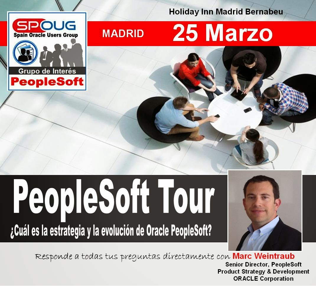 25 Marzo PeopleSoft Tour