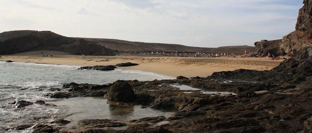 Nude beach Puerto Muelas (Lanzarote)
